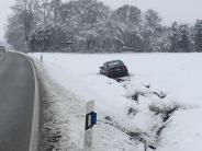 Landkreis Augsburg: Schnee sorgt für Unfälle und Verkehrschaos im Augsburger Land