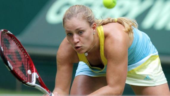 Tennis: Kerber bei Wimbledon-Generalprobe ausgeschieden ...