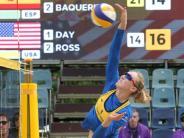 : Ross im Team mit Beachvolleyball-Olympiasiegerin Walsh