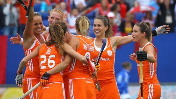 Gewannen die niederländischen hockey damen das kleinen finale