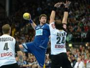 Handball: Deutsche Handballer gewinnen gegen Bundesliga-Allstars