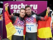 Olympia: Rodler produzieren Medaillen wie am Fließband