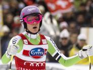 Ski alpin: Keine Party für Höfl-Riesch:Neunte in Crans Montana