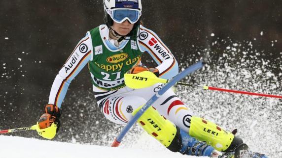 Lena dürr fuhr einen guten slalom wettbewerb in maribor