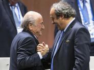 Fußball: Russland lädt Blatter und Platini zur Weltmeisterschaft ein