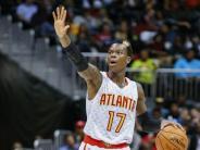 Basketball: Schröder mit Atlanta in NBA weiter auf Playoff-Kurs