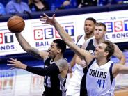 Basketball: NBA: Nowitzki mit Mavs in Playoffs gegen Oklahoma City