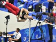 Turnen: Deutsche Turner bei EM zufrieden mit Platz fünf