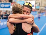 Triathlon: Versöhnliches Ende:Triathlon-Staffel gewinnt Mixed-Bronze
