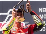 Motorsport: Ducati-Doppelerfolg: Iannone siegt vor Dovizioso