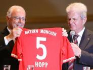 """Fußball: Dietmar Hopp: Man sollte Franz Beckenbauer """"dankbar sein"""""""