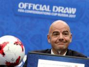 Fußball: 48 Teams in Dreiergruppen: Fifa-Chef lobt WM-Idee