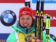 Fourcade als Maßstab: Dahlmeier schafft erstmals Biathlon-Double