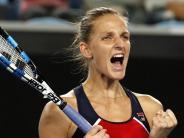 Titelanwärterin im Achtelfinale: Karolina Pliskova vermeidet Aus bei Australian Open