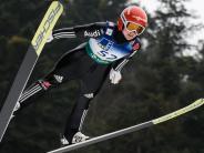 Althaus gewinnt: Skispringerinnen in WM-Form: Dreifach-Erfolg in Slowenien