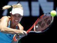 Tennisstar: Naher Osten statt Pazifikinsel: Kerber in Doha gefordert