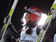 WM in Lathi: Carina Vogt wieder Weltmeisterin im Skispringen