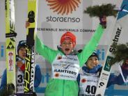 WM in Lahti: Skispringerin Carina Vogt erneut Weltmeisterin