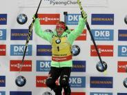 Siege in Sprint und Verfolgung: Dahlmeier hat Olympia im Blick:«Go for Gold»
