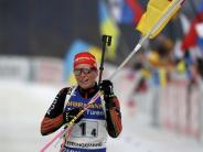 Staffel-Erfolg: Deutsche Biathletinnen siegen auch ohne Dahlmeier
