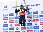 Rekord des Franzosen: Fourcade mit 13. Sieg - Peiffer wird Fünfter im Sprint