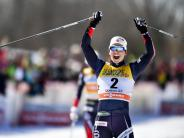 Bjørgen und Klaebo siegen: Norwegens Loipen-Asse dominieren Weltcup-Finale