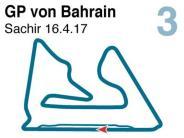 Saison 2017: Der Große Preis von Bahrain