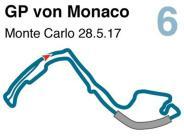 Saison 2017: Der Große Preis von Monaco