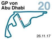 Saison 2017: Der Große Preis von Abu Dhabi
