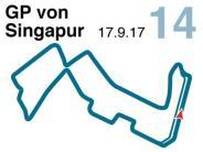 Saison 2017: Der Große Preis von Singapur
