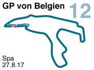 Saison 2017: Der Große Preis von Belgien