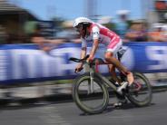 Triathlon in Oceanside: Pech für Frodeno: Platter Reifen verdirbt Saisoneinstand