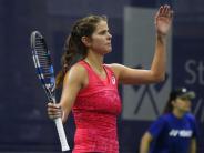 Viertelfinale gegen Strycova: Julia Görges gibt in Biel auf