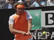 Masters-Turnier: Alexander Zverev erreicht Halbfinale in Rom