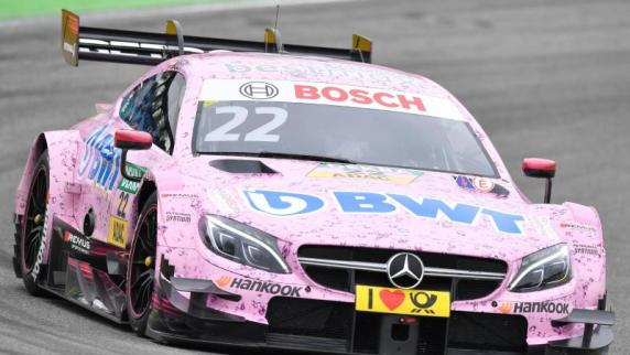 Mercedes-Pilot Auer wird zum DTM-Titelfavoriten