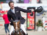Behält «Goldene Peitsche»: Haßmann siegt in Nörten-Hardenberg - Ehning Madrid-Zweiter