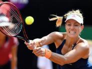 Gefordert gegen Makarowa: Kerber bei French Open bereits am Sonntag in Einsatz
