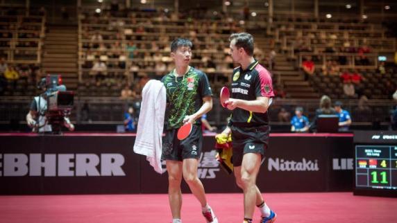 Nach Aus im Doppel: Timo Boll gewinnt nächstes WM-Einzel