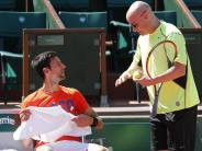 Tennis: Agassi arbeitet kostenlos für Djokovic