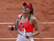 French Open: Drei Französinnen in Paris im Achtelfinale