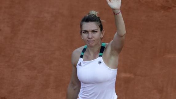 Halep erreicht bei den French Open locker das Viertelfinale