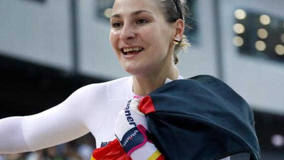 Kristina Vogel dominiert deutsche Bahnrad-Meisterschaften
