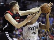 Kein Start bei EM?: Basketball-Talent Hartenstein kämpft um Platz in der NBA
