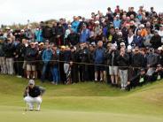 Von Angst keine Spur: Alles sicher im Royal Birkdale Golf Club