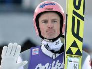 Aus für den Olympia-Winter: Bitter für Skispringer Freund: Erneuter Kreuzbandriss