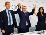 Spiel 2024 und 2028: Los Angeles und Paris fast einig über Olympia-Vergabe