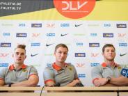 WM-Training mit Drohne: Deutsches Speerwurf-Trio träumt von Medaillen-Triple