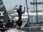 America's-Cup-Gewinner: Olympiasieger Burling beim Volvo Ocean Race