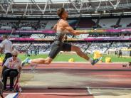 Leichtathletik-WM in London: Zehnkämpfer bravourös: Kazmirek als Zweiter vor Freimuth