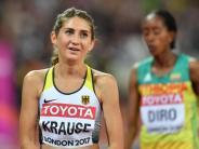 Leichtathletik-WM in London: Chaos-Rennen: Keine Medaille für Hindernisläuferin Krause